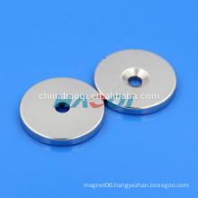 NdFeB NIB Neo neodymium disc magnets with holes