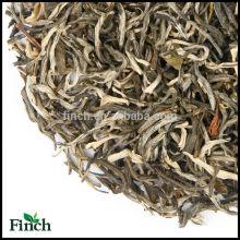 Famoso té verde Yunan Skinny Jasmine, té de desintoxicación, certificación Eu Standard Xiao Bai Hao