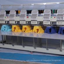 Preço seis da máquina do bordado do computador do chapéu do Snapback de seis cabeças novas com 10 'computador da tela de toque
