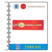 Metall Lesezeichen mit roten Geschenk-Box
