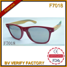 Heißer Verkauf Sonnenbrille mit Holzrahmen (F7018)
