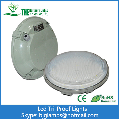 30W Tri-proof  LED Lighting of PC Housing