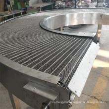 Curved Conveyor System Belt