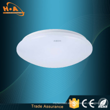 Luz LED para montaje en techo con luz LED blanca de 12 W de alta transmitancia