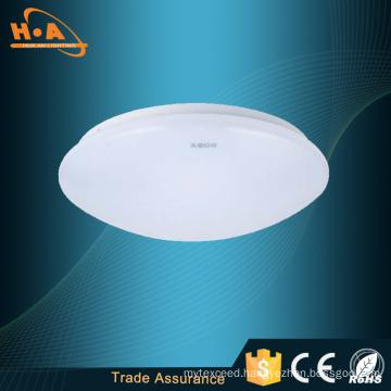High Light Transmittance 12W White LED Ceiling-Mounted Light