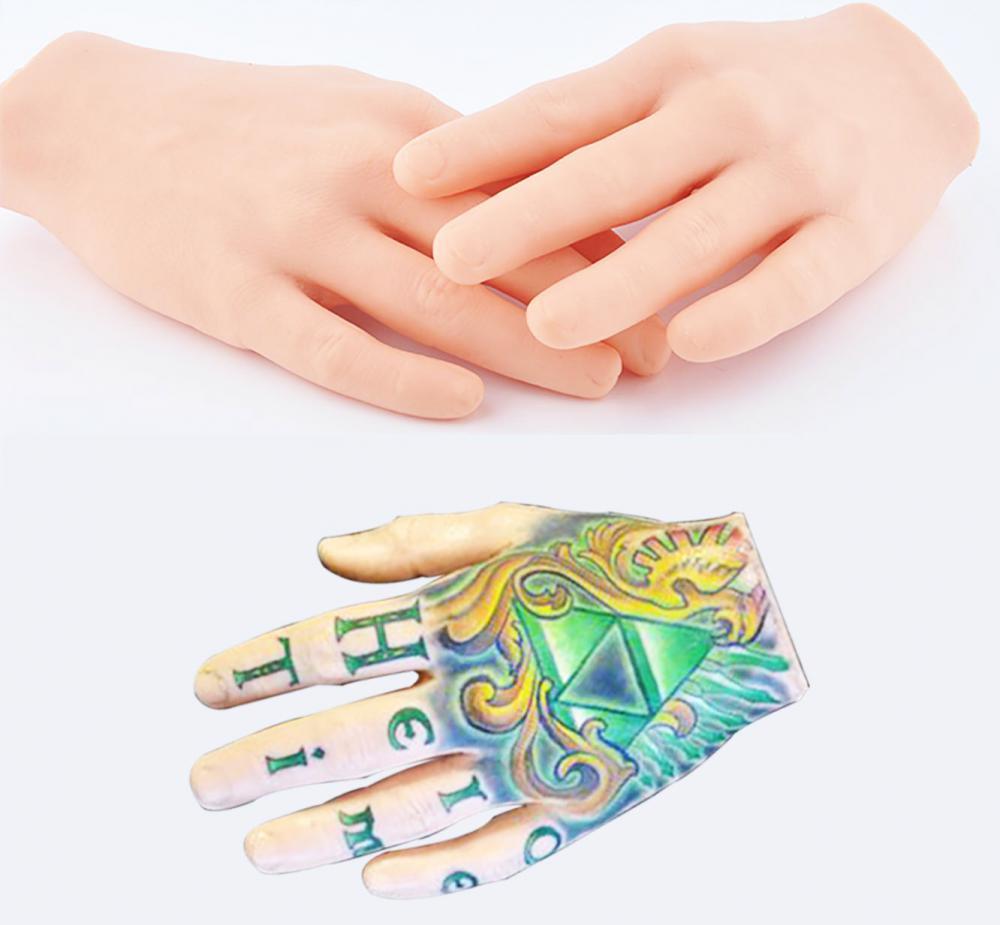 new tattoo practice skin 3d tatttoo display hand china manufacturer. Black Bedroom Furniture Sets. Home Design Ideas