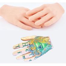 New Tattoo Practice Skin 3D Tatttoo Display Hand