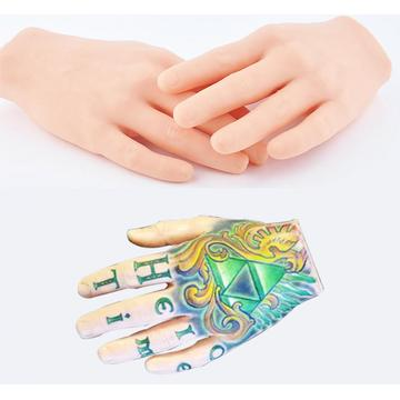 New Tattoo Practice Skin 3D Tatttoo Display Hand