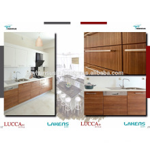 LUCCART factory Turkish Manufacture Economic Kitchen Cabinet with Wood Structured Melamined Mdf Door