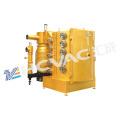 Máquina do chapeamento de ouro do equipamento do revestimento de vácuo do punho de porta PVD / porta