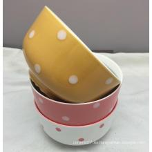 """Precio competitivo 5.5 """"Deep Bowl de cerámica"""