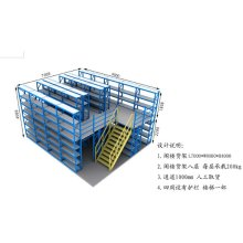 Heavy duty industial pallet racks and shelving
