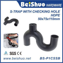 Équipement de traitement de l'eau HDPE S-Trap avec un meilleur prix