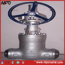Hochdruck-Guss-Stahl-Druckdicht-Absperrschieber