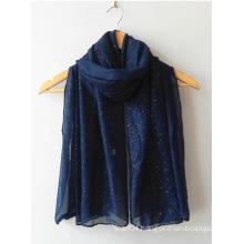 Fashion glittery shawl hijab Muslim scarf