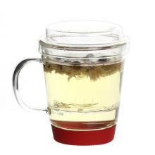 Один человек офис чайник стеклянный чай кружка с Infuser