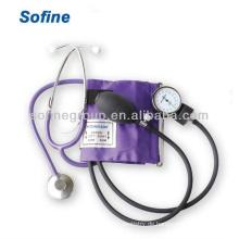 Standard-Blutdruckmessgerät mit Einzelkopf-Stethoskop-Blutdruck-Kit mit Stethoskop