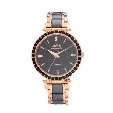 2017 OEM de montre en acier inoxydable de quartz de vente chaude de Badatong