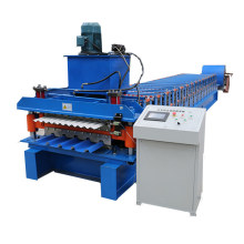 Double decking roof roll forming machine
