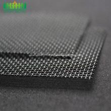 Treillis métallique ondulé à armure en acier inoxydable