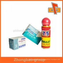 Heat sensitive pack plastic film for personal care products