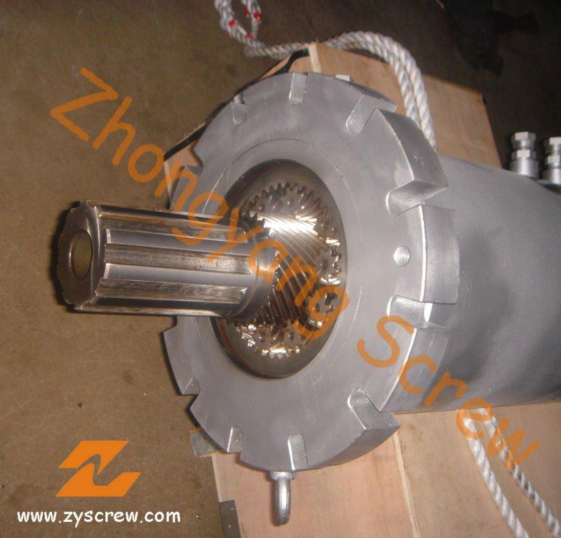 Barril de tornillo planetario de extrusión de lámina de PVC