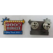 Hochwertiges Metall Pin-Abzeichen für globale Finale (Abzeichen-194)