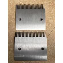 Aluminium-Legierungs-Kammplatte Schindler Moving Walks