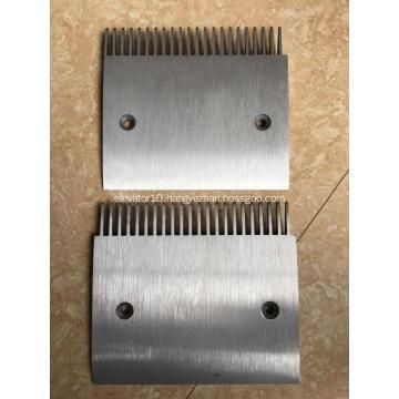 Aluminium Alloy Comb Plate Schindler Moving Walks