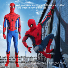 The Spider Man Cosplay Costume Jumpsuit For Men New Arrival MANLUYUNXIAO Custom Made