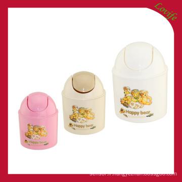 Seau de stockage imprimé en plastique imprimé (FF-5017-3)
