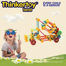 Inteligência Atraente Bloco de Construção brinquedos de plástico educacional