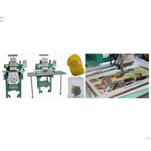 """7 """"Touch Panel 9 Needles Single Head Stickmaschine für Visor / Pet Bekleidung"""