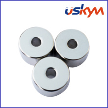 China Nickel NdFeB Magnet Ring (R-003)