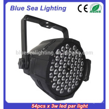 Factory price 54x3w dj light disco light lighting par led