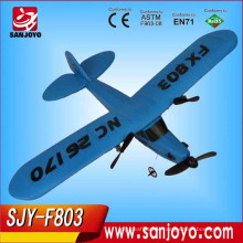 Upscale Toys 2.4G Epp RC Model Electric Airplane with LED lights rc fighter flying plane SJY-FX803