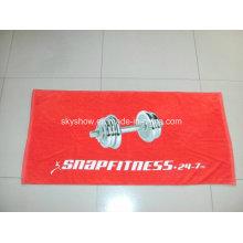 Serviette de sport imprimée par coutume (SST3010)