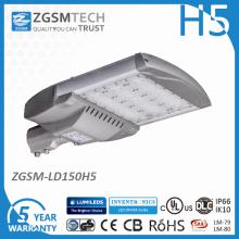 Altos lúmenes impermeables de la iluminación de calle del lumen 150W LED con Ce RoHS