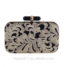 Trendy genuine New Fashion Style women handbags leather Bridesmaid package ladies evening clutch bags DB01