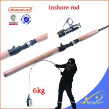 ISR004 weihai aparejos de pesca personalizados caña de pescar bajura costera