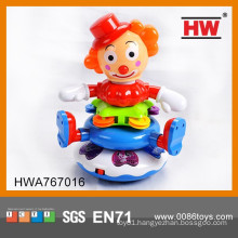 Baby Battery Operated Cartoon Musical Clown Toys