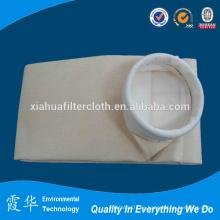 Bolsa de filtro de polvo de 250 micras para planta de cemento