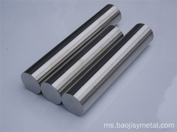 Bar pusingan W2 Tungsten