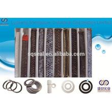 Grafito PTFE y fibra de aramida en Zebra Embalaje trenzado