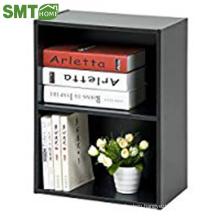 Modern simple style wood revolving bookshelf