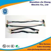 Montagem de cabo e conector de fio impermeável
