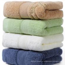Toalha 100% algodão cor sólida jacquard
