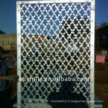 Portes en fil de fer barbelé profondément traitées et soudées (de l'usine)