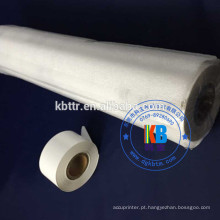 Papel de couro do plutônio que carimba a folha de carimbo quente preta branca do branco 25mm * 100m