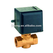07768 Brass Motorized valve with forging brass